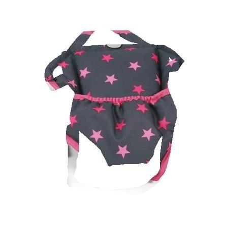 BAYER CHIC 2000 Puppen-Tragegurt Sternchen pink