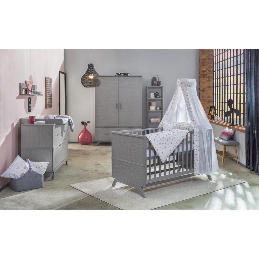 schardt chambre d 39 enfant vicky armoire 2 portes gris. Black Bedroom Furniture Sets. Home Design Ideas