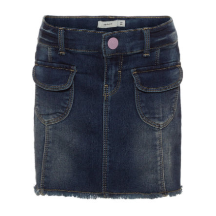 name it Girl s denim skirt Nmfadea medium blue denim