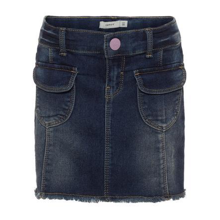 name it Jeans kjol Nmfadea medium blå denim