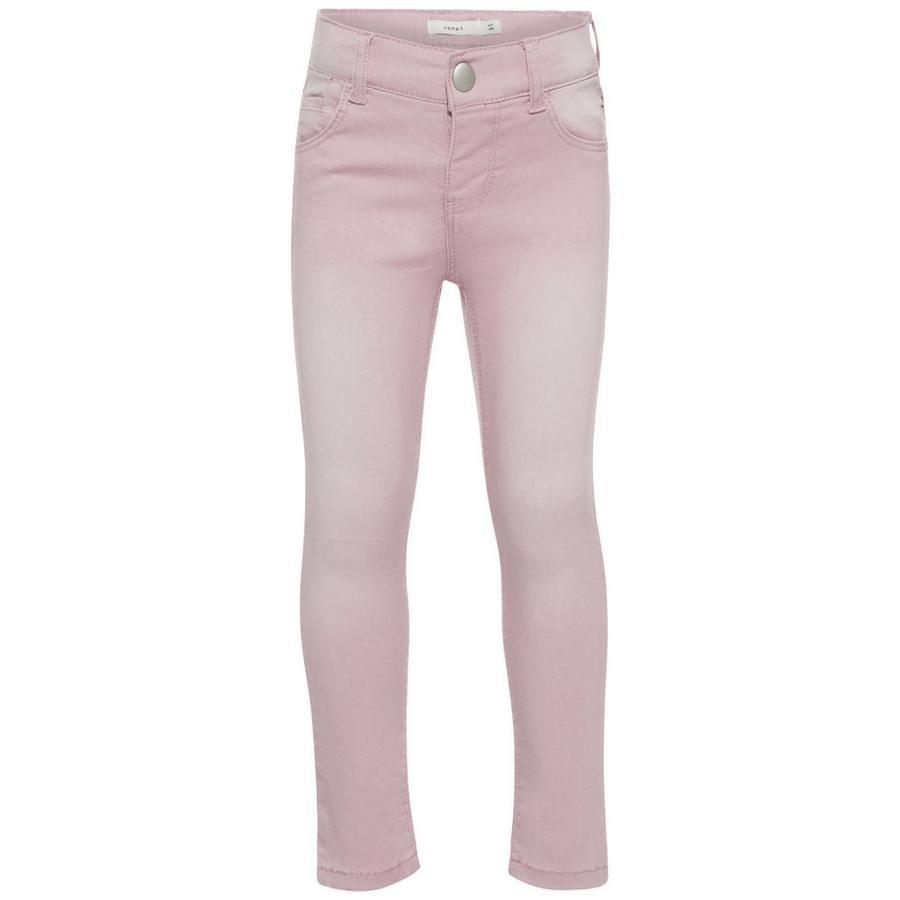 name it Girl s spijkerbroek Nmfpolly dageraad roze
