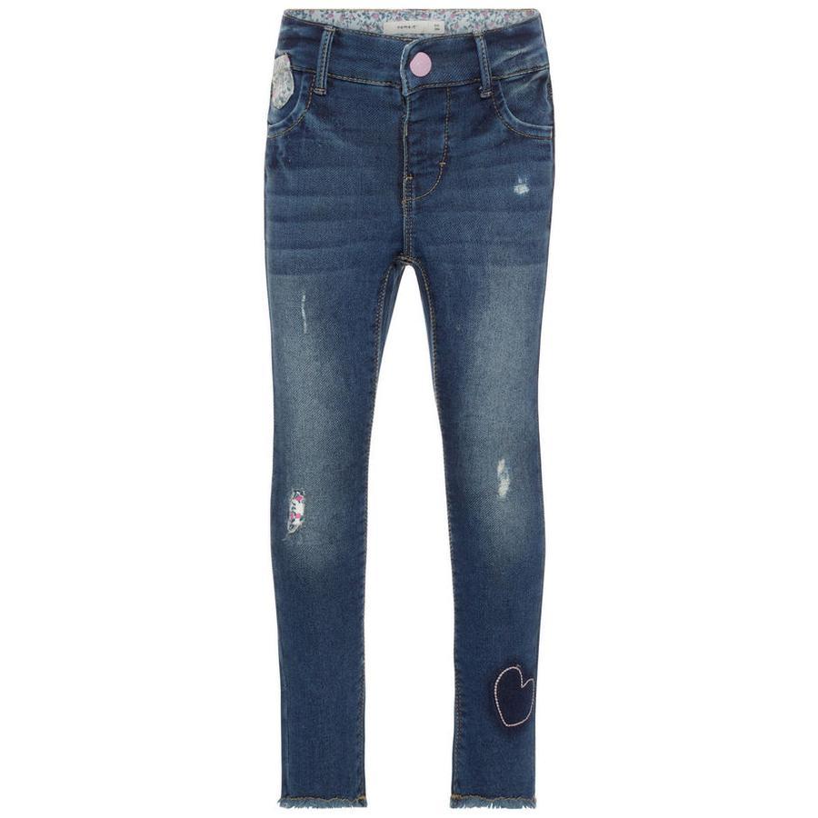 name it Girl s Jeans Nmfpolly denim azul medio