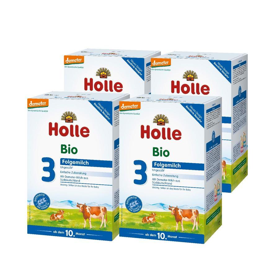 HOLLE 3 Bio Follow-On Formula 4x600g