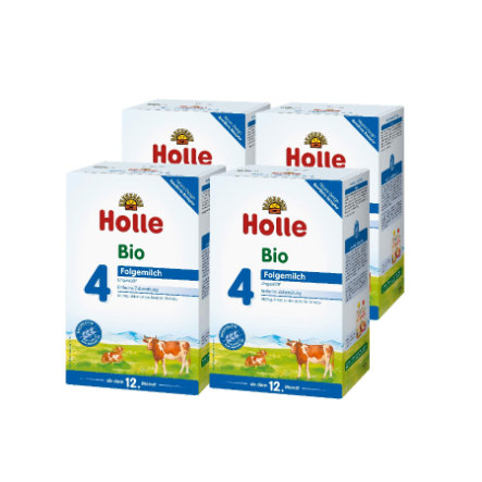 Holle Bio-Folgemilch 4 4 x 600 g