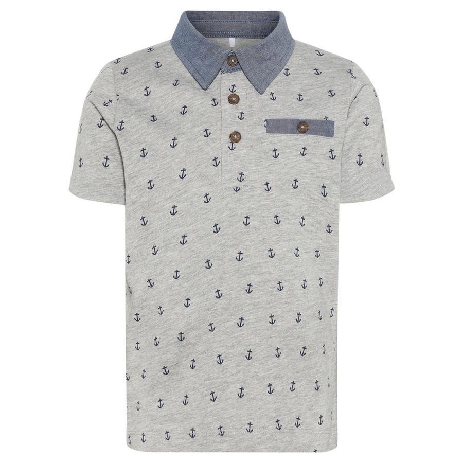 name it Boys T-Shirt Mélange gris Nmmfagne