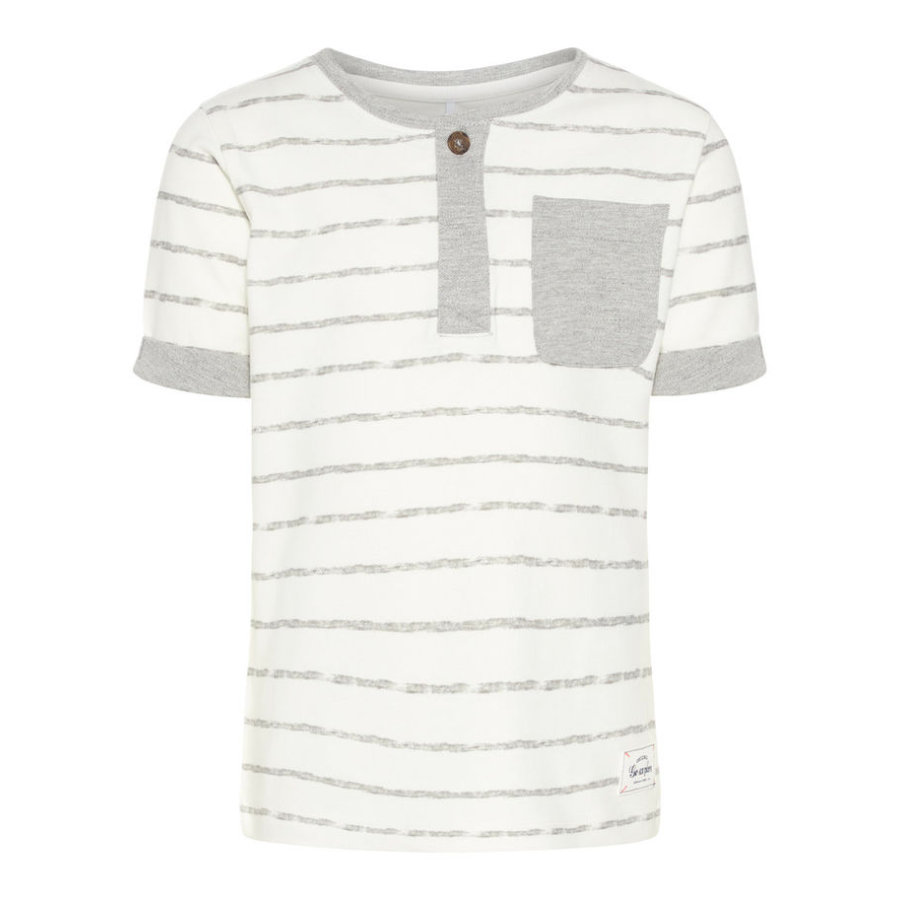 name it Boys T-Shirt Nmmfaril gris mélange