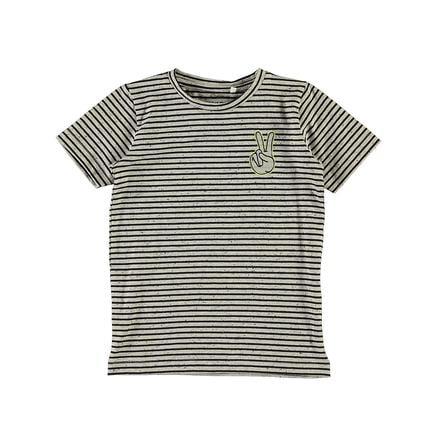 name it Boys T-Shirt Nmmfaklo ciemny szafir Nmmfaklo