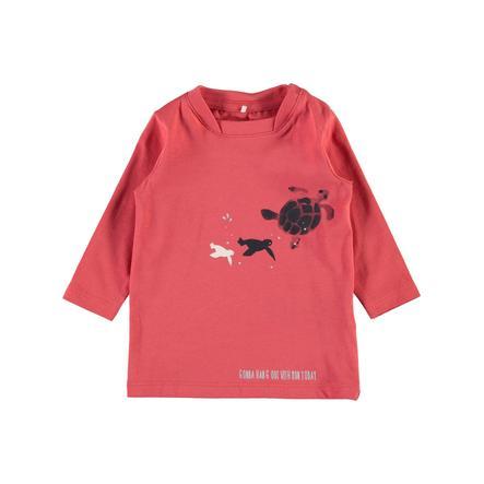 name it Boys Overhemd met lange mouwen Nbmfaniel gekruid koraal