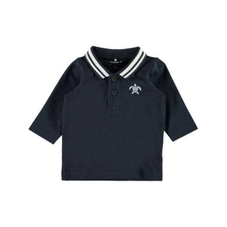 name it Boys Poloshirt Nbmfanel donker saffier
