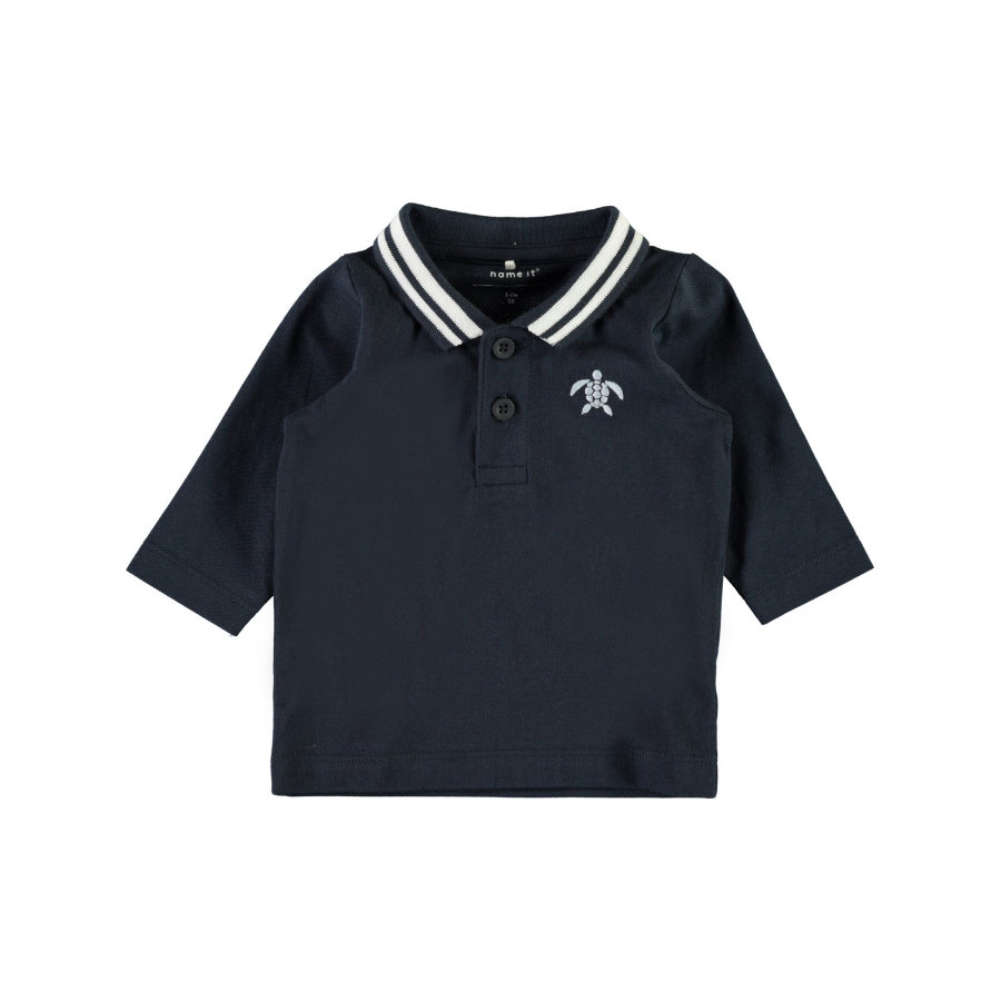 name it Boys Poloshirt Nbmfanel zaffiro scuro zaffiro scuro