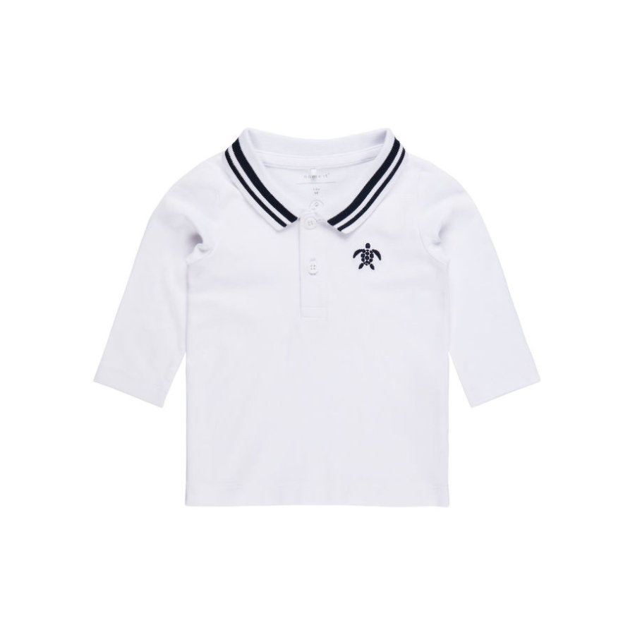 name it Boys Poloshirt Nbmfanel bright white