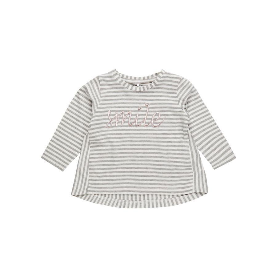 name it Girl s Camisa de manga larga Nbffanala gris mélange