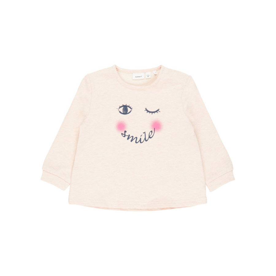 name it Girls Sweatshirt Nbffanela peachy keen