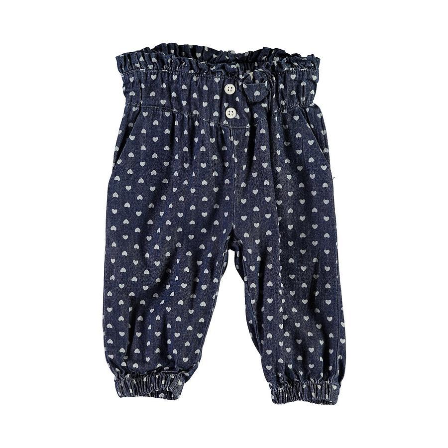 name it Girl s Pantalones Nbfrandi denim azul oscuro