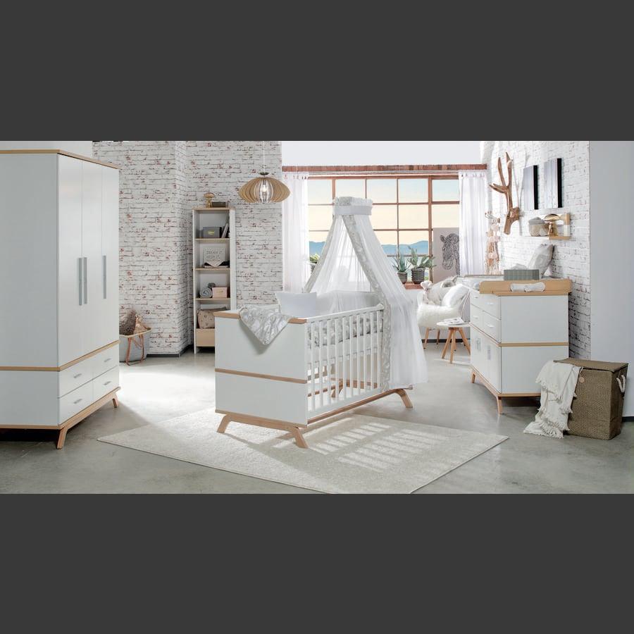 schardt chambre d 39 enfant vicky armoire 3 portes ch ne. Black Bedroom Furniture Sets. Home Design Ideas