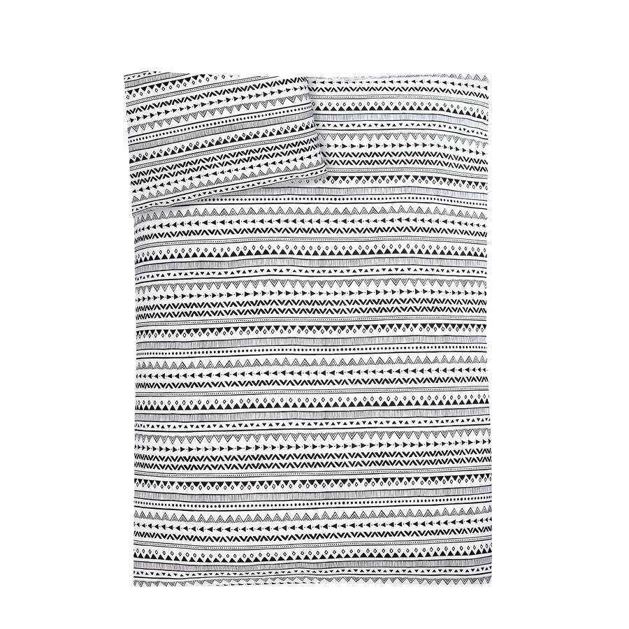 JULIUS ZÖLLNER Jersey Biancheria da letto Indiana 100 x 135 cm