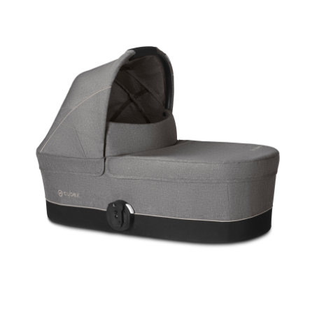 CYBEX GOLD Navicella Cot S Manhattan Grey-mid grey