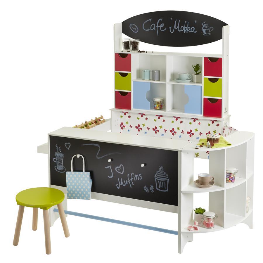 MUSTERKIND® Butikk og Cafe Arabica, flerfarget