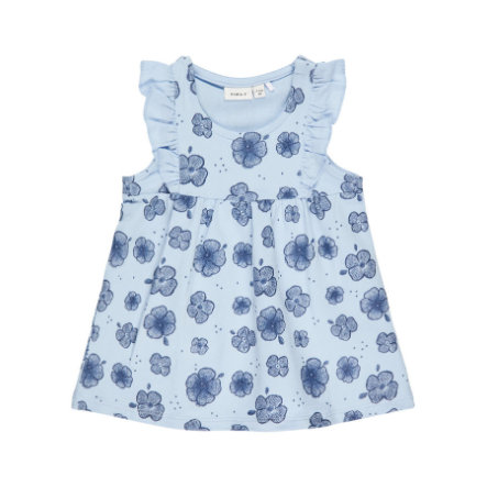 name it Girl robe Nbffanoria cachemire Nbffanoria bleu