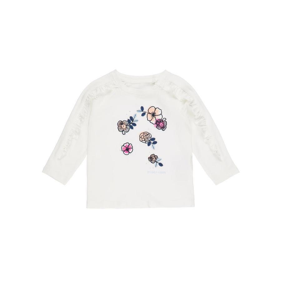 name it Girl s camisa de manga larga Nbffanaya blanco nieve