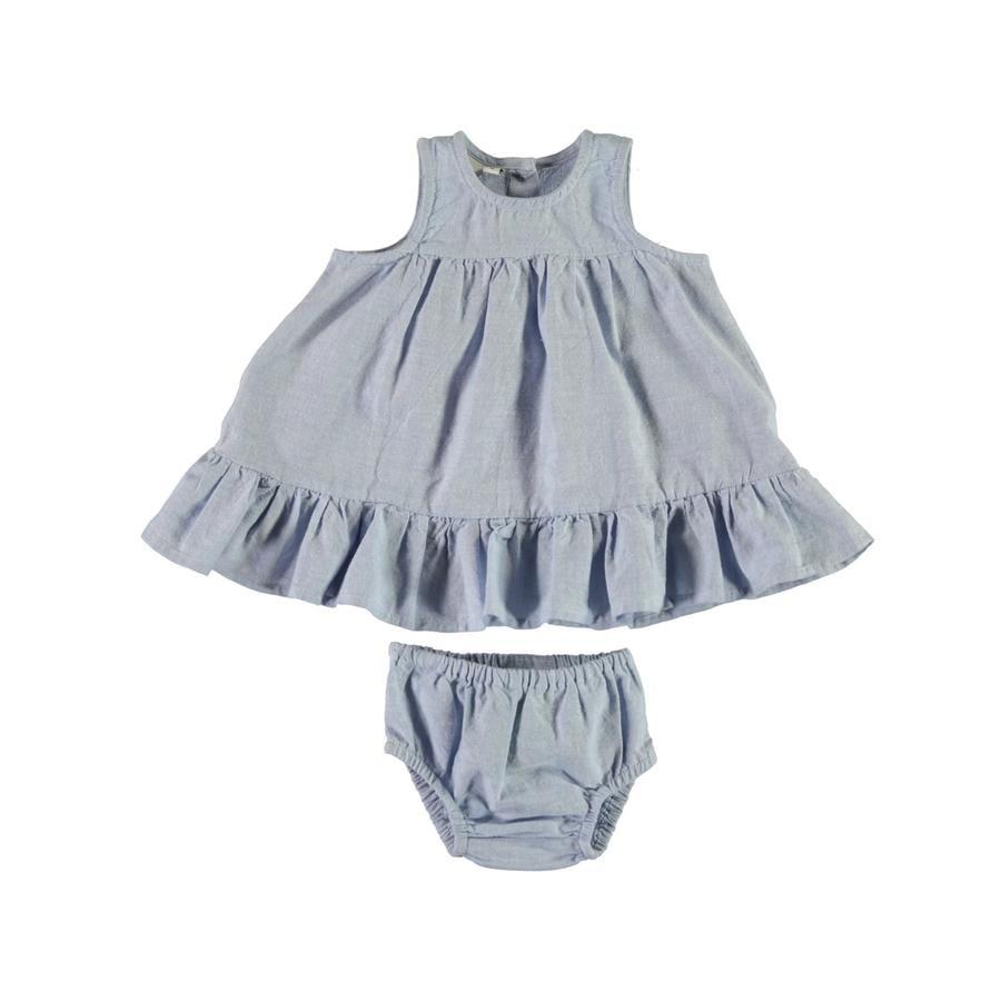 name it Girl s Sukienka z majtkami Nbffatina kaszmirski niebieski