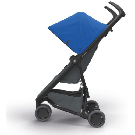 Quinny Poussette canne Zapp Flex blue on graphite