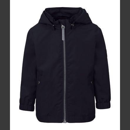 TICKET TO HEAVEN Veste Maxi avec capuche amovible, bleu foncé