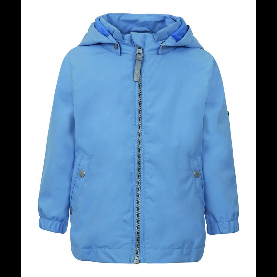 TICKET TO HEAVEN Chaqueta Maxi con capucha desmontable, azul claro
