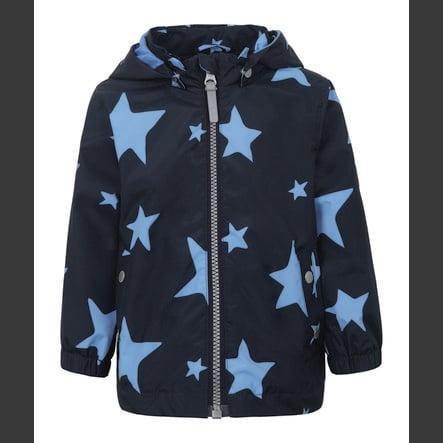 TICKET TO HEAVEN Jacke Maxi mit abnehmbarer Kapuze, marine mit Sternen