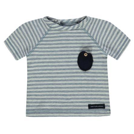 bellybutton Boys T-Shirt mit Streifen, grau