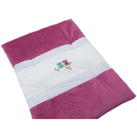 Be' Be' s Be' s Collection Crawling Blanket Gufi Fucsia 100 x 135 cm