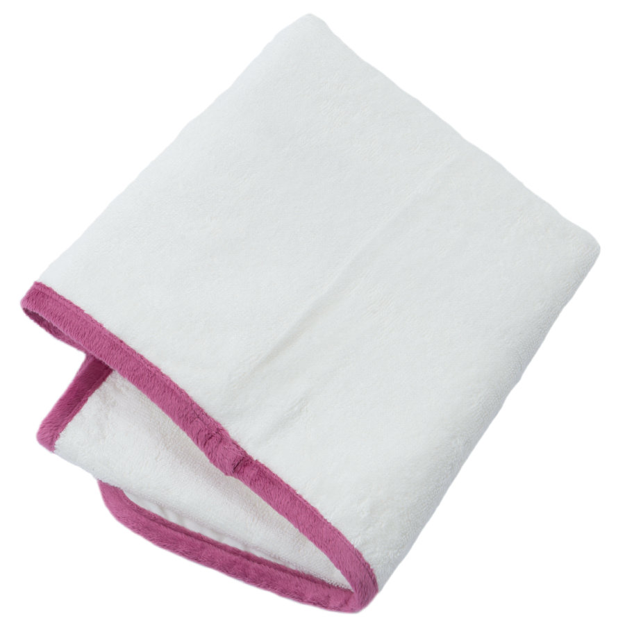 Be Be 's Collection Resmet terry toweling pad ugler fuchsia 55 x 70 cm
