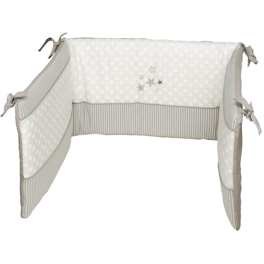 Be Be 's Collection Tour de lit enfant Etoiles scintillantes écru