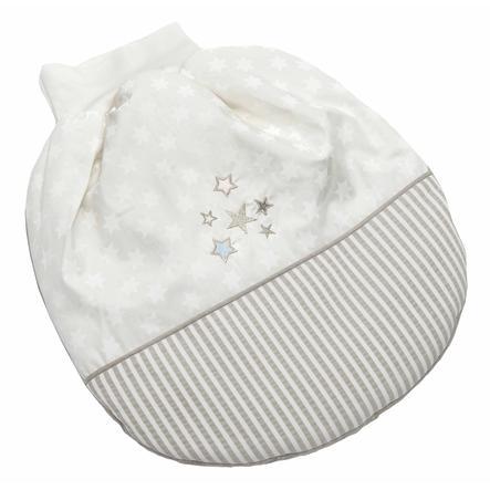 Be 's Collection winter romper bag glitter stars ecru