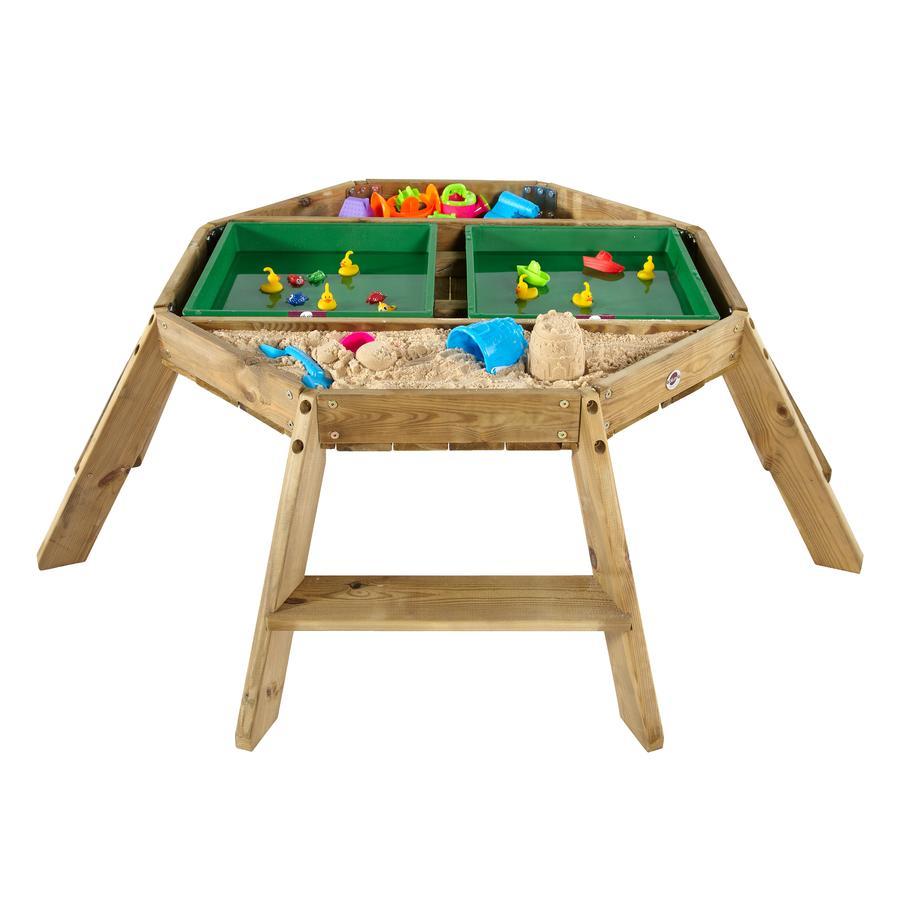 plum® Oktagon Spieltisch aus Holz