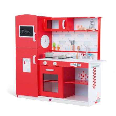 plum® Terrace Red Apple Spielküche aus Holz