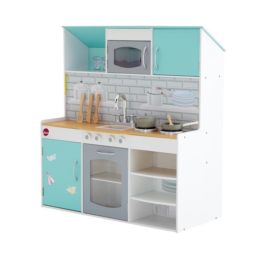 plum® Peppermint Townhouse 2-in-1 Spielküche und Puppenhaus