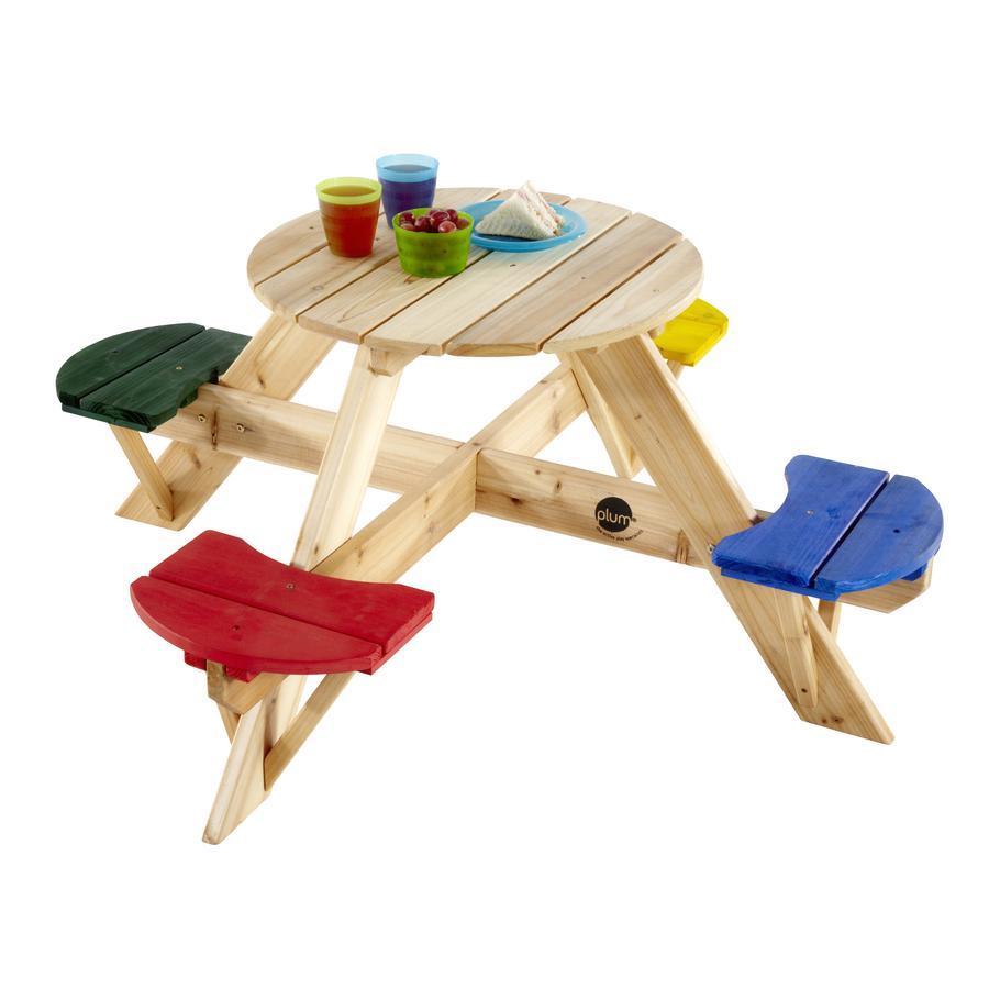 plum® Kinder Picknicktisch, rund
