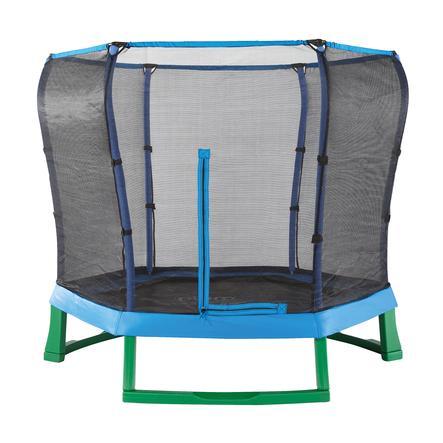 plum® Junior Jumper Springsafe® Trampolin mit Sicherheitsnetz, blau