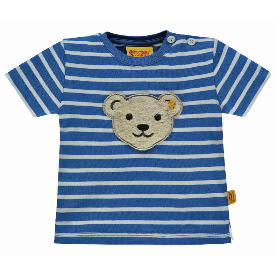 Steiff Boys T-Shirt, strong blue