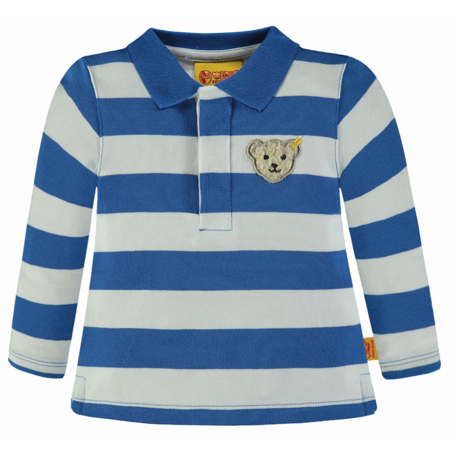 Steiff Boys Polo, bleu vif