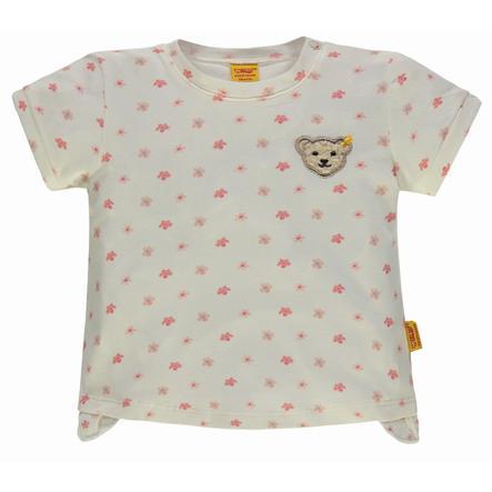 Steiff Girl T-Shirt avec des fleurs