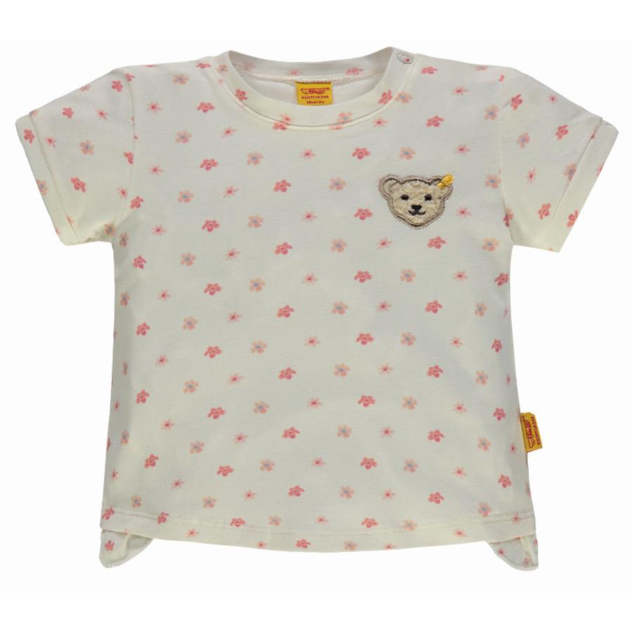Steiff Girl s T-Shirt con i fiori