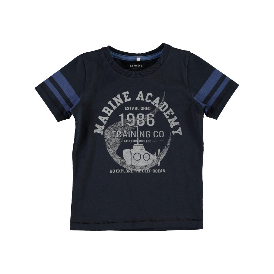 name it Boys T-Shirt Nmmfabo dark sapphire