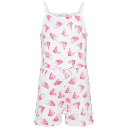 name it Girl s Jumpsuit Nmfvigga jasnobiały, biały.