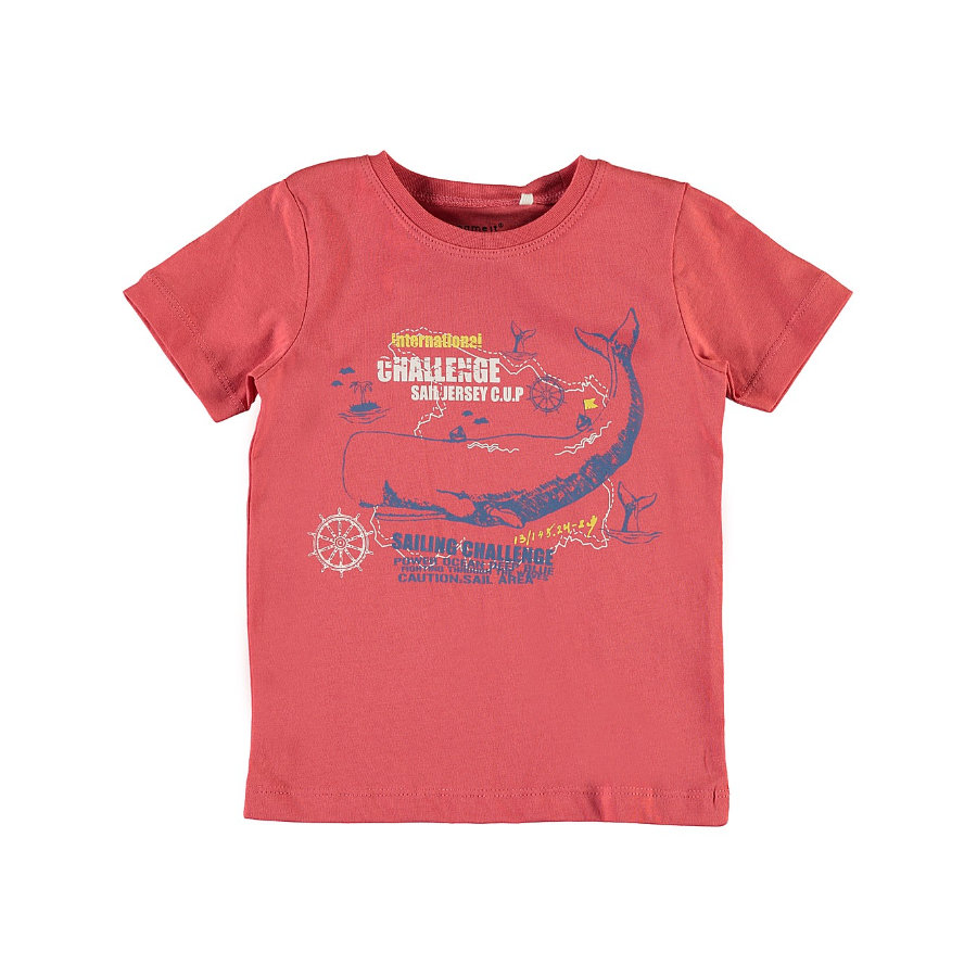 name it Boys T-Shirt Nmmvictor spiced coral