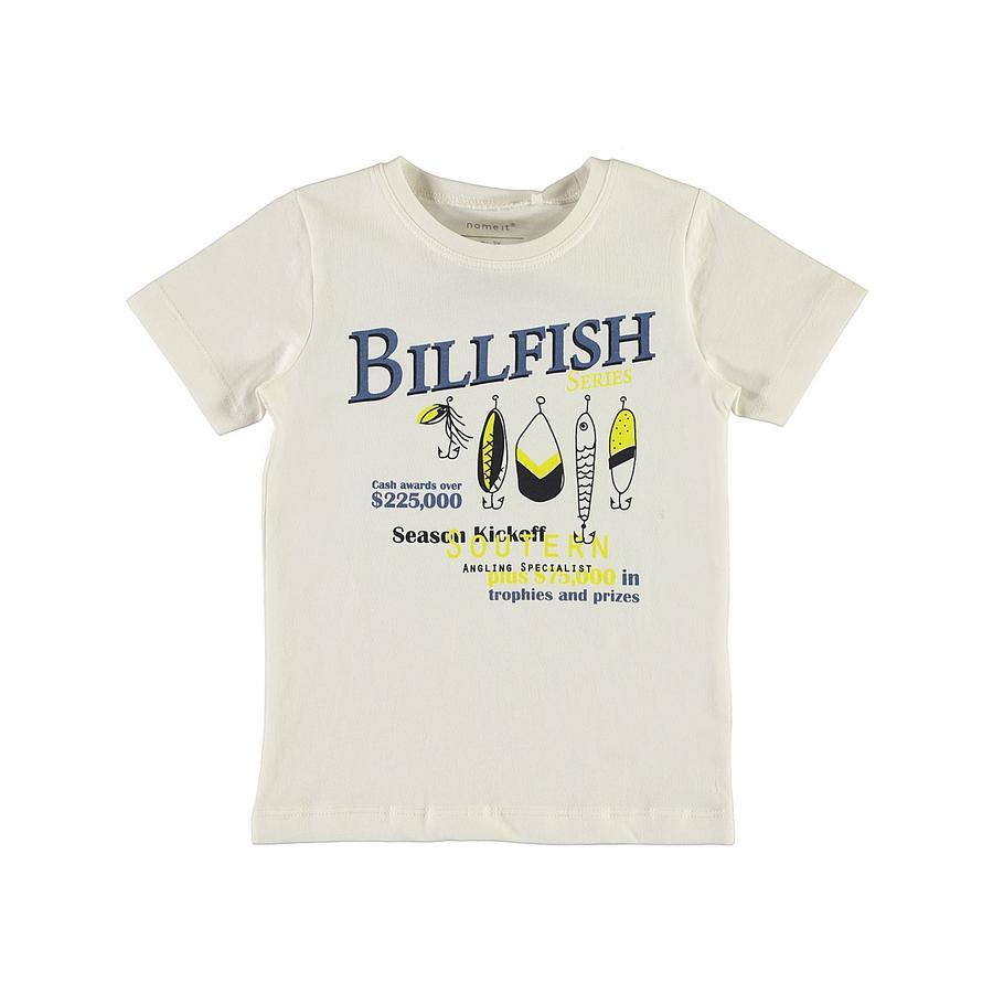 name it Boys T-Shirt Nmmvictor jasnobiała biel