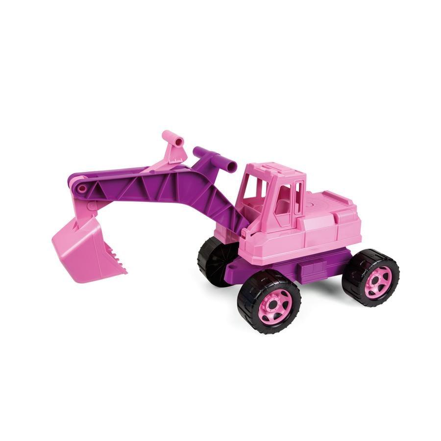 LENA® Excavador grande y robusto, rosa