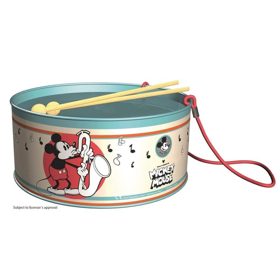Bolz® Tambour enfant Mickey Disney, 20 cm