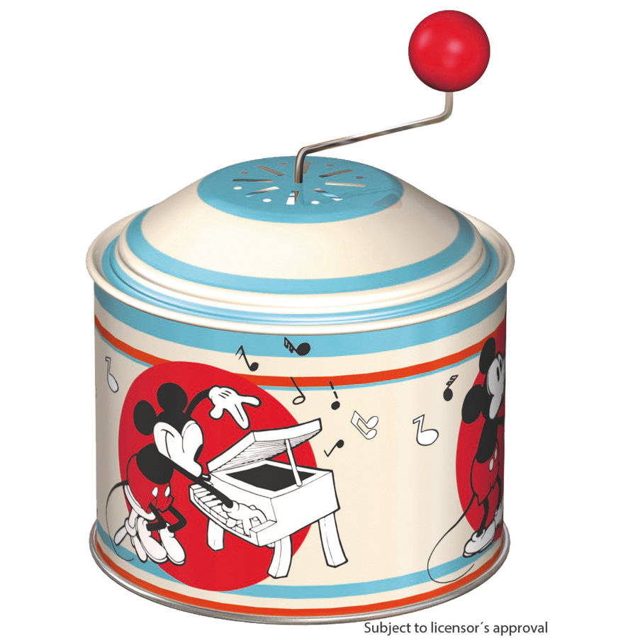 Bolz® Boîte à musique enfant à tourner Disney Mickey